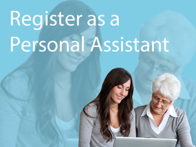 Register as a Personal Assistant