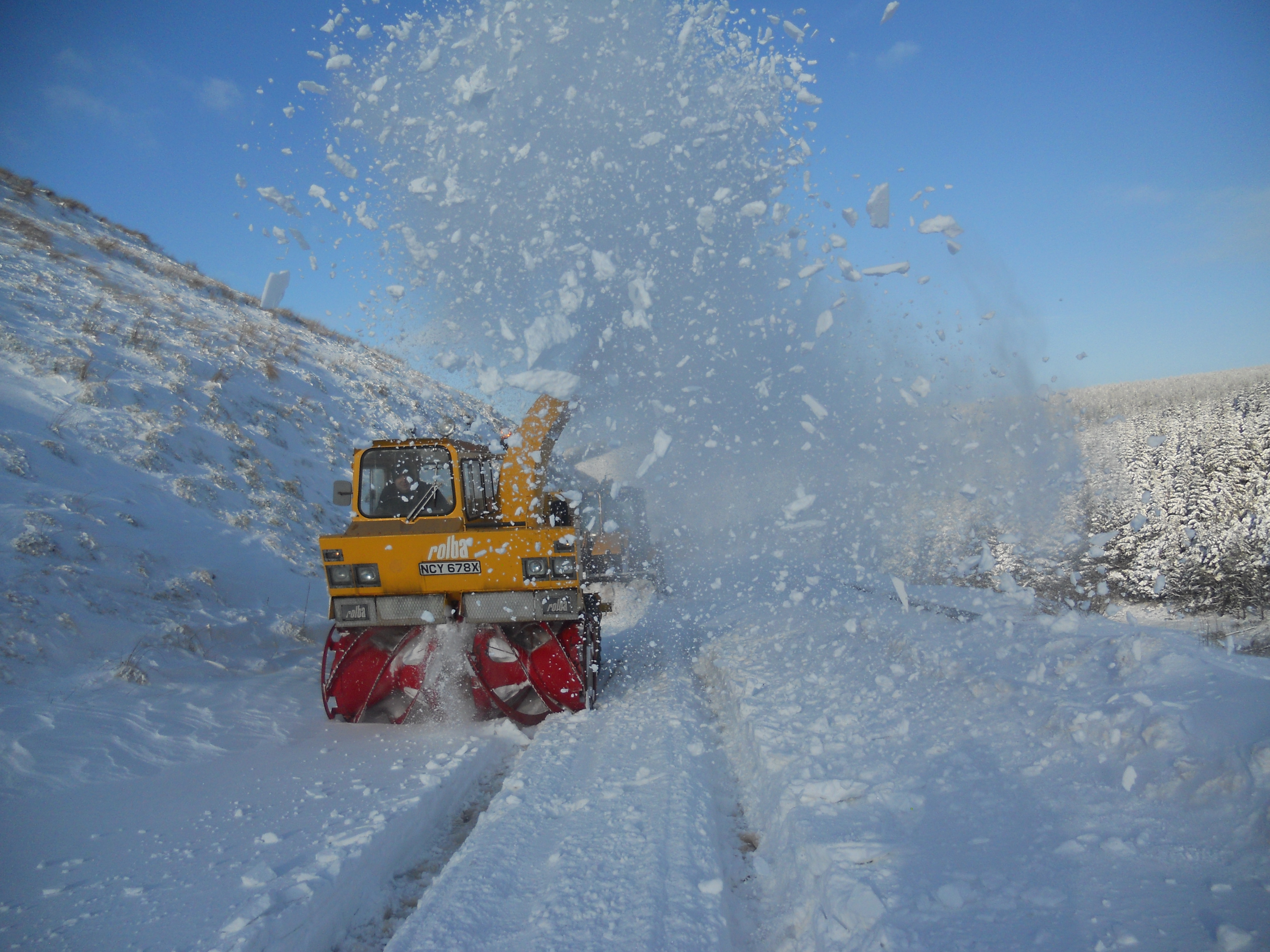 How the Council's workforce responded to the first really icy blasts of winter