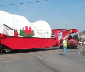 Abnormal Load at Baglan Energy Park
