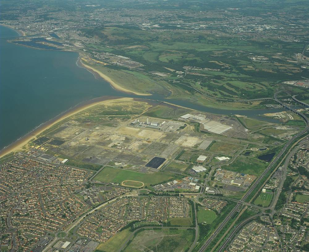 Aerial Shot of Baglan Bay
