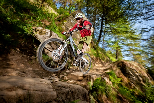 Mountain Biking in Afan Forest Park