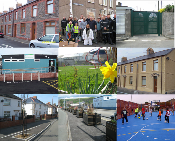 Sandfields East and Aberavon photo montage
