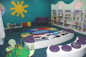 Port Talbot Library - childrens' area