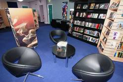 Port Talbot Library - teenage area