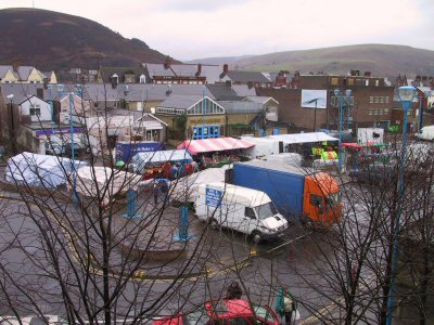 Port Talbot open air market