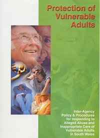 "Cover for ""Protection of Vulnerable Adults"" document"
