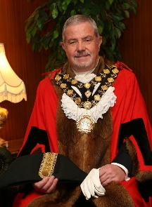 Neath Port Talbot Mayor Cllr Dennis Keogh